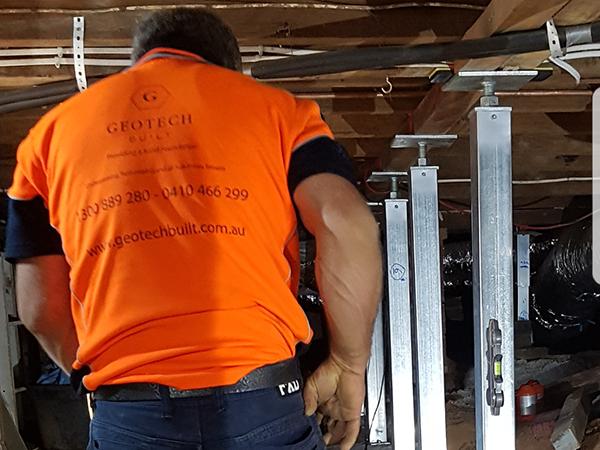 Subfloor repair in NSW